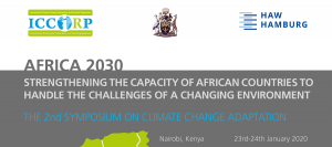 3rd Symposium on Climate Change Adaptation in Africa