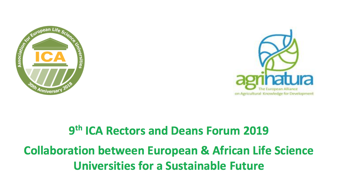 9th ICA Rectors and Deans Forum 2019