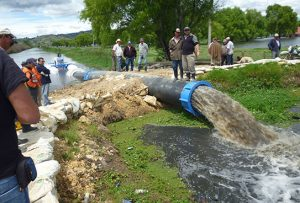 Conference on improving water productivity in the NENA region