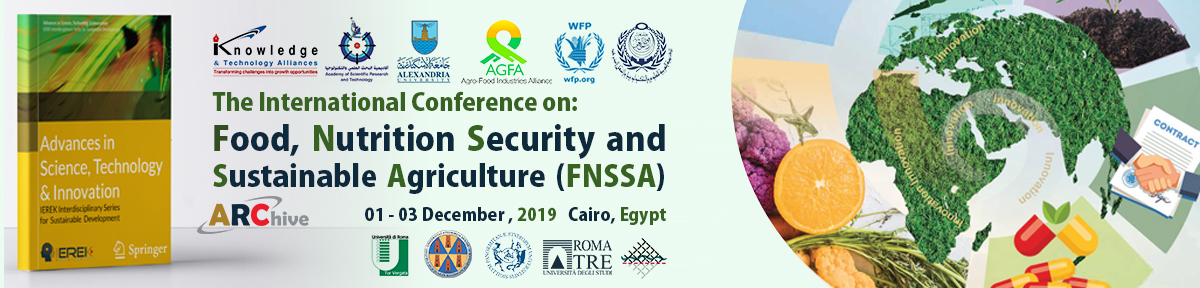 1st International Conference on Food, Nutrition Security and Sustainable Agriculture