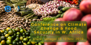 Conference on Climate Change and Food Security in West Africa
