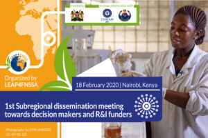 LEAP4FNSSA 1st Subregional Dissemination Meeting Towards Decision Makers and R&I Funders