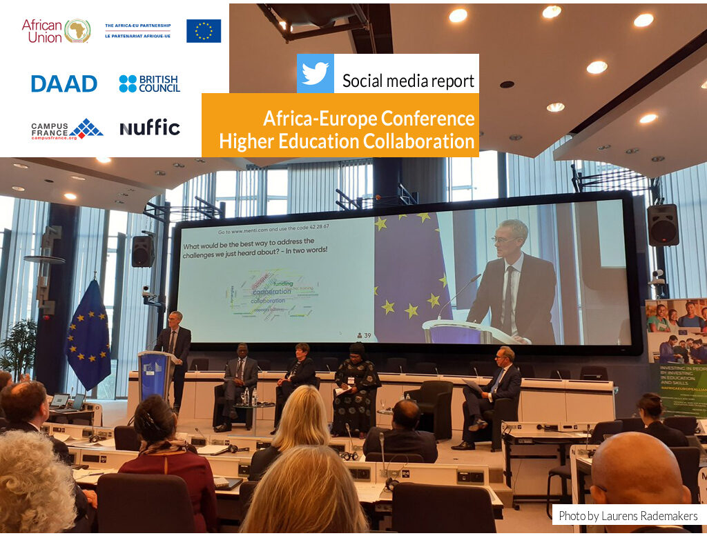 Africa-Europe Conferencet on Higher Education Collaboration | Social media report