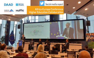 Africa-Europe Conference on Higher Education Collaboration | Social media report