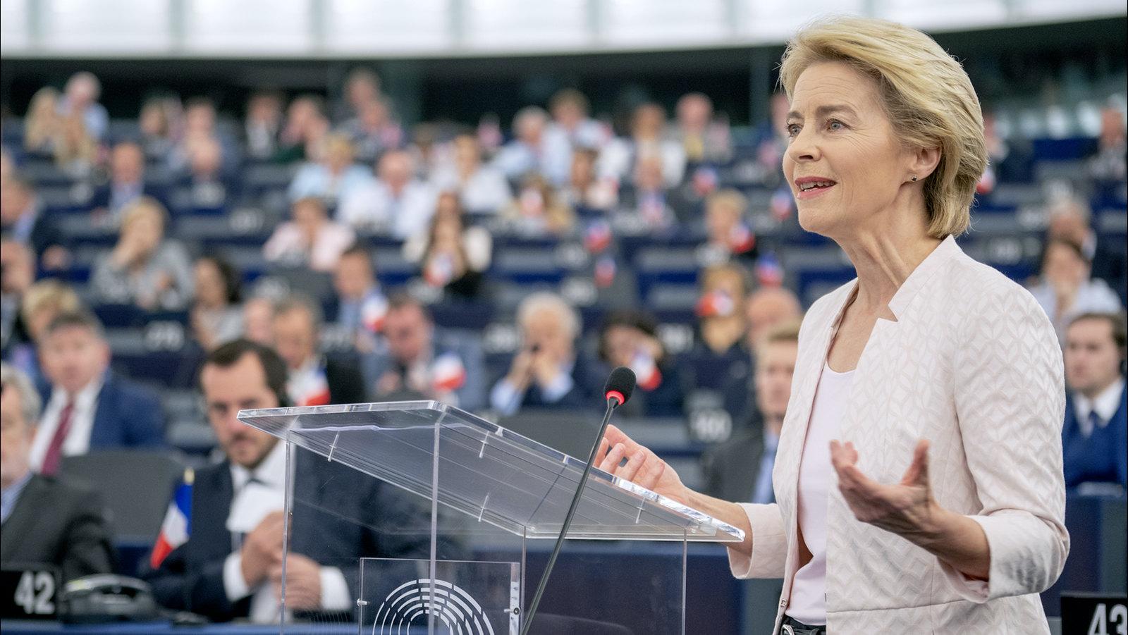 Ursula von der Leyen European Parliament