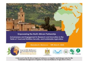 Empowering the North African Partnership through Inclusiveness and Engagement in Research and Innovation in the fields of Food and Nutrition Security, and Sustainable Agriculture