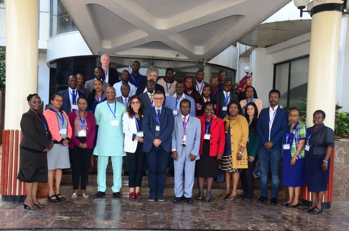 Photo group dissemination meeting Nairobi Kenya 2020