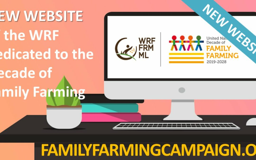 The new website dedicated to the Decade of Family Farming 2019-2028
