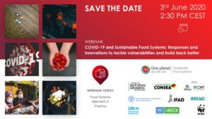 COVID-19 and Sustainable Food Systems