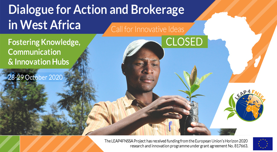 West Africa Workshop: the call has closed