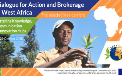 Selected Idea-carriers for LEAP4FNSSA West Africa Workshop: Dialogue for Action and Brokerage – Fostering Knowledge, Communication & Innovation Hubs