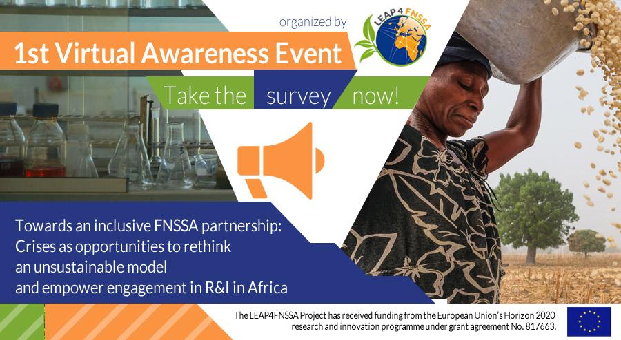 LEAP4FNSSA 1st Virtual Raising Awareness Event survey