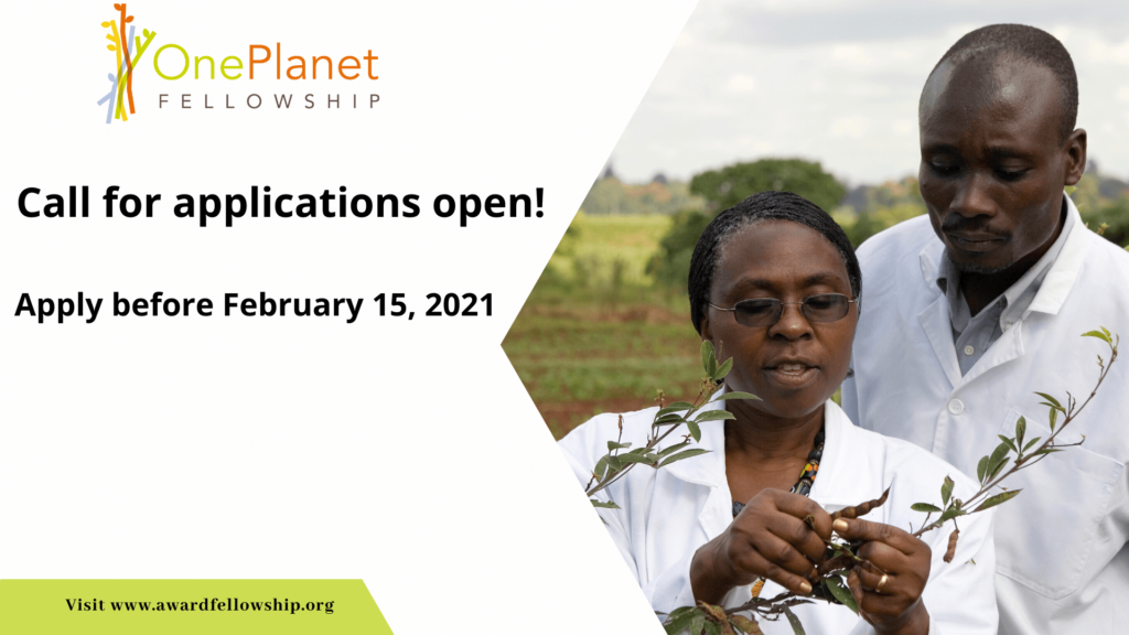Seeking young, dynamic researchers to work on climate change in Africa