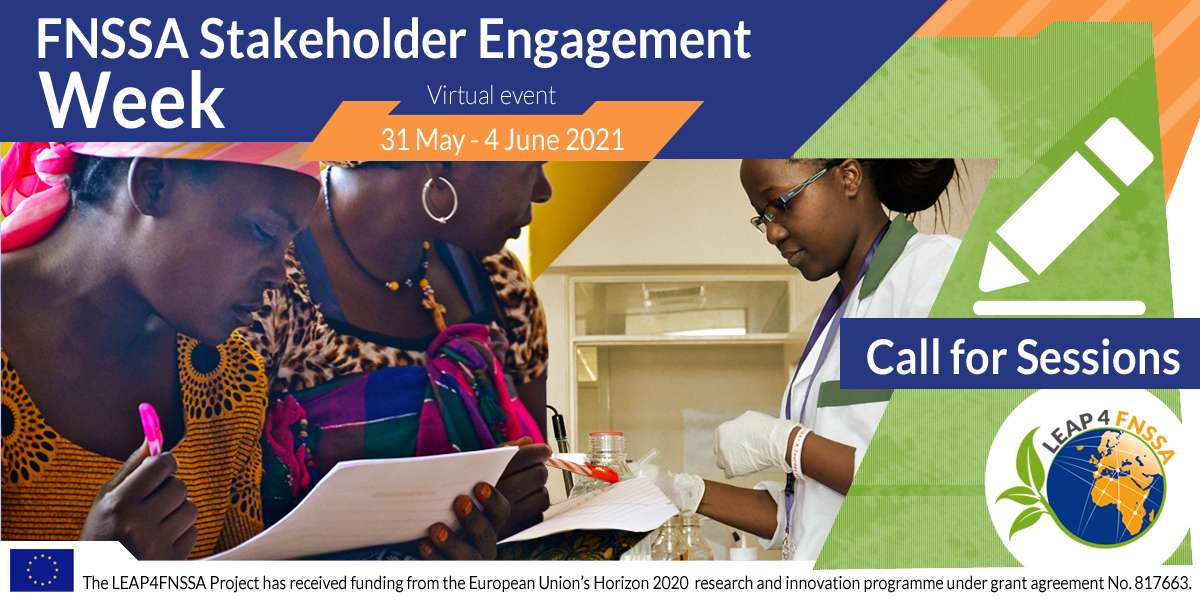Stakeholder Engagement on the Africa-EU Research and Innovation Partnership on Food and Nutrition Security and Sustainable Agriculture at the EU-Africa Summit