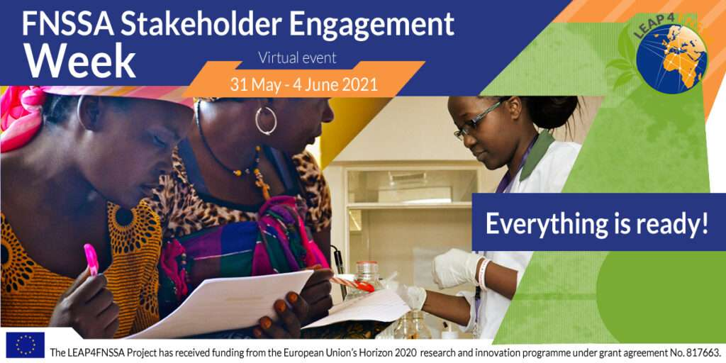 Everything is ready for the Engagement Stakeholder Week!