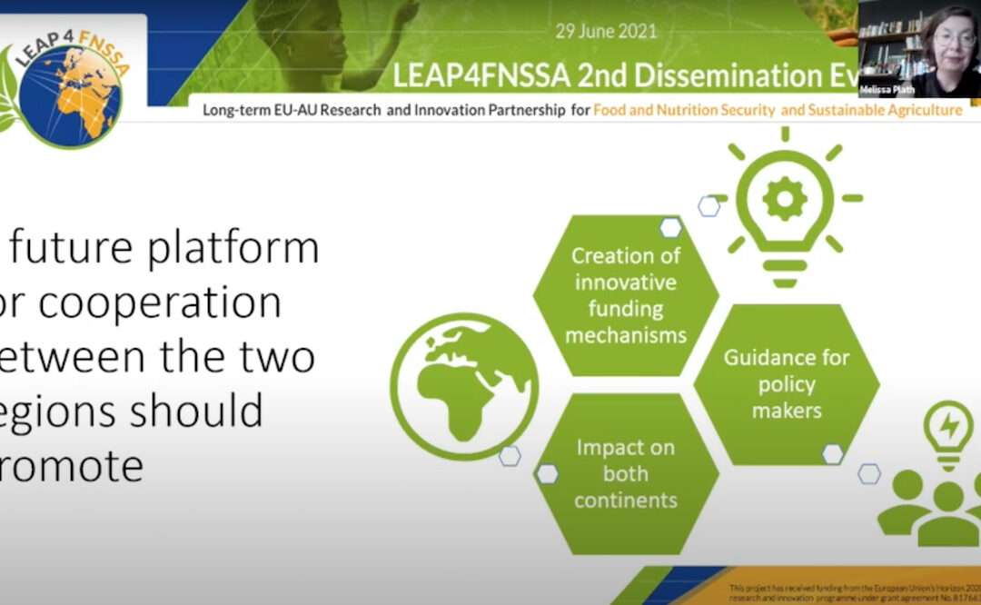 LEAP4FNSSA 2nd Dissemination Event | Outcomes