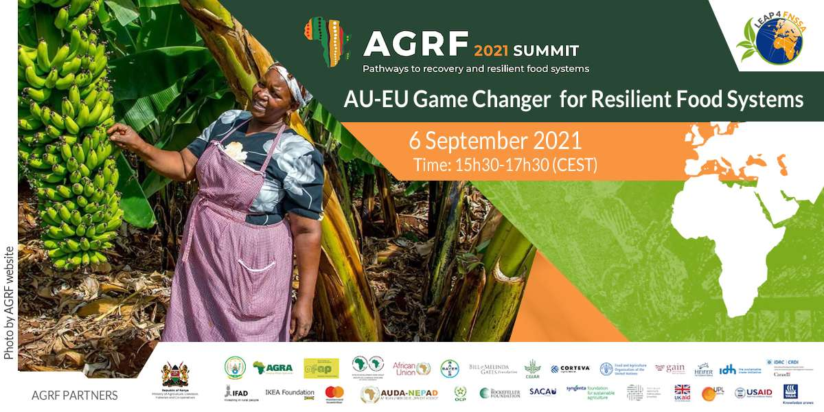 AGRF 2021   AU-EU Game Changer for Resilient Food Systems