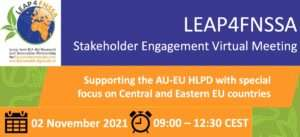 LEAP4FNSSA Stakeholder engagement meeting - Supporting the AU-EU HLPD