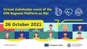 Virtual stakeholder event of UfM Regional Platform on R&I